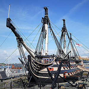 Tour Guide for HMS Victory Portsmouth