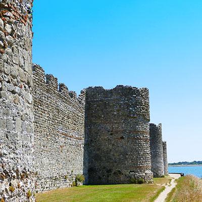 Portchester Castle Portsmouth Harbour Tour Guide
