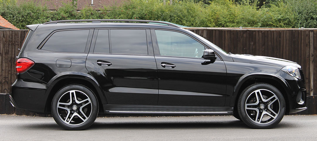 Slide - Exec Merc Executive Mercedes SUV Transport